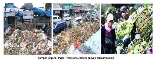 sampah organik pasar