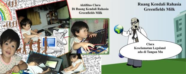 Clara di ruang kendali Greenfields Milk